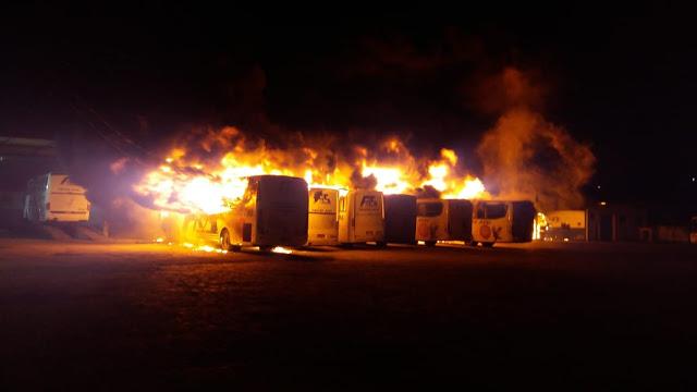 incendio-garagem-empresa-falcao-real-jacobina-jacobinanoticias